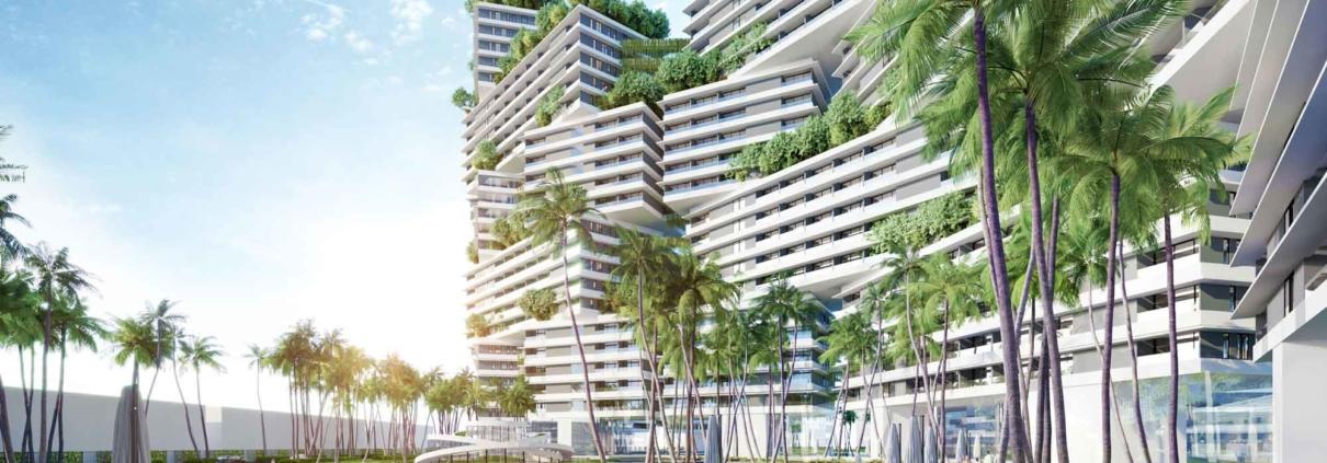 Phối cảnh căn hộ biển Wyndham Coast - dự án Thanh Long Bay
