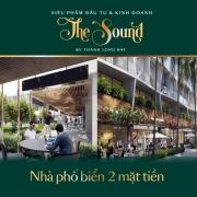nhà phố Thạnh Long Bay - The sound