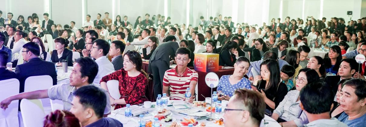 Dự án Thanh Long Bay - Đông đảo các khách hàng quan tâm đến với sự kiện