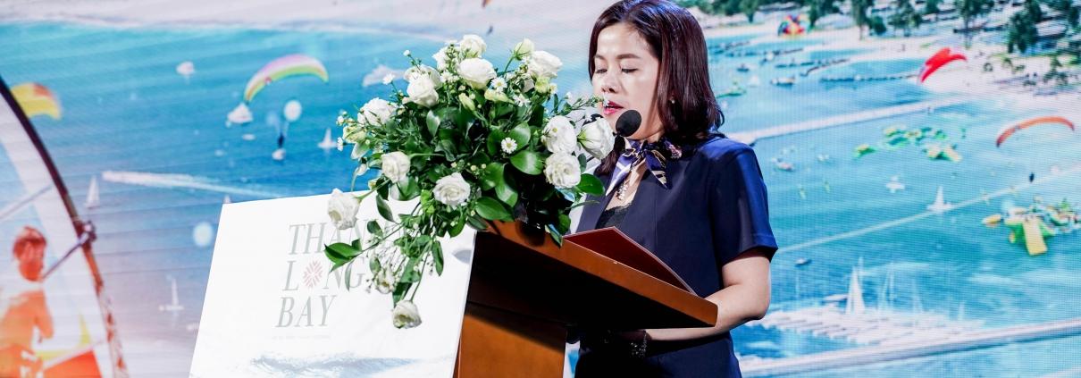 Dự án Thanh Long Bay - Bà Nguyễn Thị Minh Thy – Phó Tổng Giám đốc Nam Group phát biểu