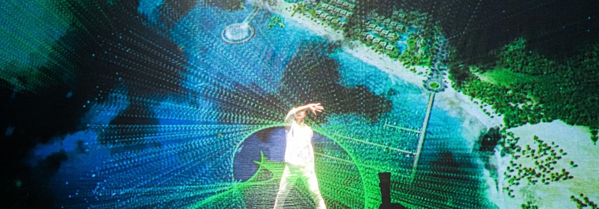 Dự án Thanh Long Bay - Màn trình diễn Hologram được đem ra biểu diễn tại sự kiện