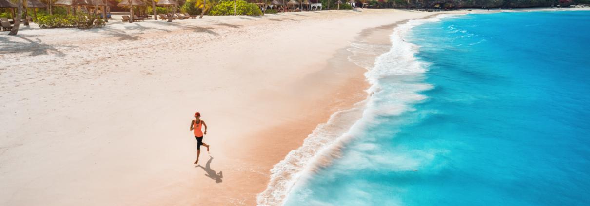 Trải nghiệm chạy bộ trên bờ biển, hoà với không khí trong lành của nơi đây - Câu chuyện Thanh Long Bay