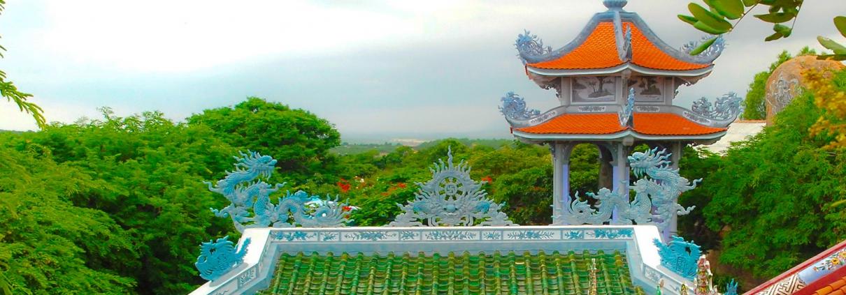 Chùa Cổ Thạch - dự án Thanh Long Bay