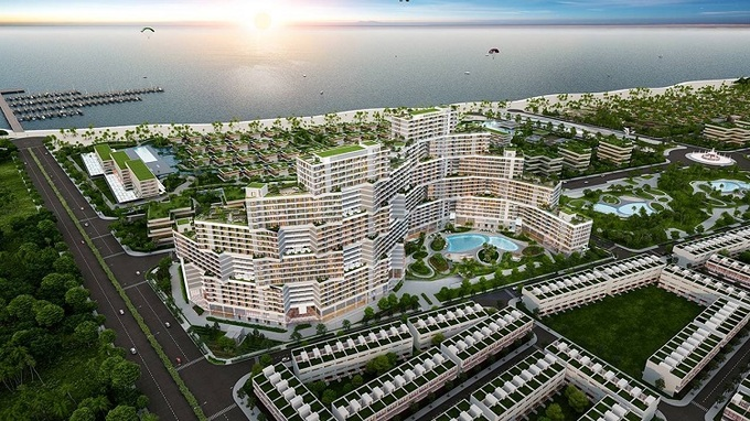 phan khu Wyndham Coast Thanh Long Bay