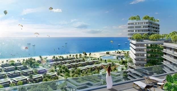 Tầm nhìn ra biển từ dự án Wyndham Coast