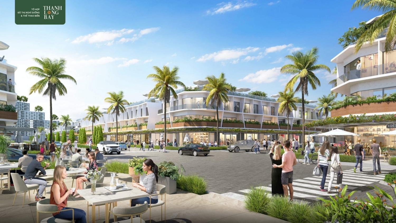 Phân khu The Sound – nhà phố thương mại biển 2 mặt tiền