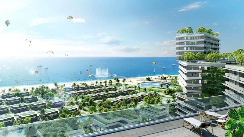 Cảnh quan view biển Thanh Long Bay - Bình Thuận