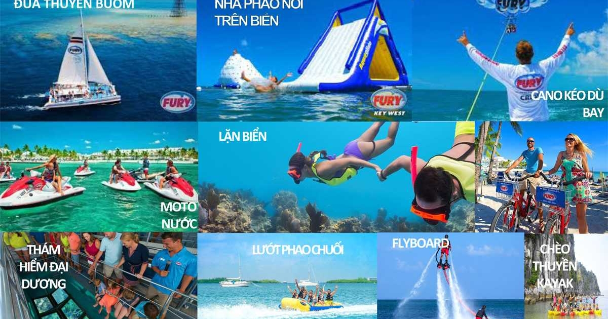 Thanh Long Bayvới thể thao biển